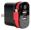 ChargeIt! Dual Output Wall Charger with Micro USB Cable