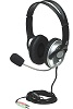 Manhattan Classic Stereo Headset with Flexible Microphone Boom (10-Pack)