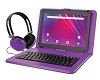 "Ematic 10.1"" Quad-Core Android 8.1 Tablet with Keyboard Bonus Bundle (2 Colors) SWATCH"