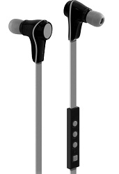 Aluratek Bluetooth Wireless Sport Earbuds with Built-in Mic