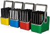 LocknCharge 5-Slot Plastic Device Baskets Set of 4 (Small)