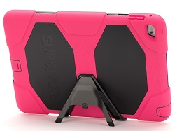 Griffin Survivor All-Terrain Case for iPad Air 2 with FREE Bluetooth Speaker (Pink/Black)
