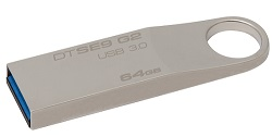 Kingston DataTraveler SE9 G2 64GB USB 3.0 Flash Drive