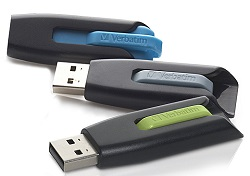 Verbatim Store n Go V3 16GB USB 3.0 Flash Drive (3-Pack) (On Sale!)