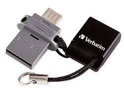 Verbatim Store 'n' Go 32GB Dual USB Flash Drive for OTG Devices
