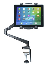 CTA Digital Tabletop Arm Mount for Tablets LARGE