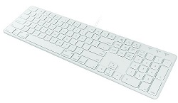 MacAlly 104-Key Ultra Slim USB Wired Keyboard LARGE
