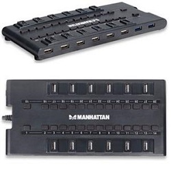 Manhattan 28-Port MondoHub USB 3.0 & 2.0 Hub
