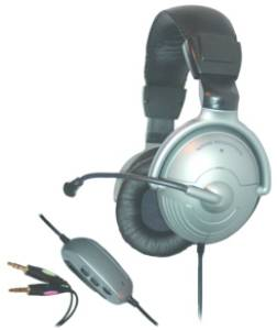 Avid AE-350 Noise Cancelling Over-Ear Stereo Headset with Mic