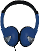 Avid FV-060 Lightweight On-Ear Headphones (Blue)