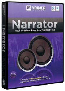 Mariner Software Mariner Narrator Mac (Download) LARGE