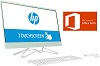 "HP 24-F0042DS 23.8"" Touchscreen AMD A9 8GB All-in-One Desktop PC w/Office 2019 (Refurb)"