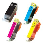 Kodak Brand Ink Cartridge Compatible With Canon 2945B011 (Combo Pack - B/C/Y/M) THUMBNAIL