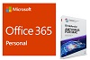 Microsoft Office 365 Personal w/Bitdefender AntiVirus Plus 2019 for Mac (1 Yr Sub - Download)