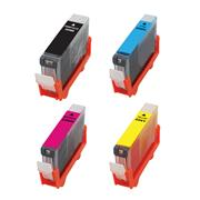 Kodak Brand Ink Cartridge Compatible With Canon 4530B008 (Combo Pack - B(225(/C/Y/M) THUMBNAIL