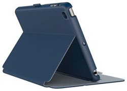 Speck StyleFolio Case for iPad Mini 4 (Deep Sea Blue/Heather Grey) (While They Last!)