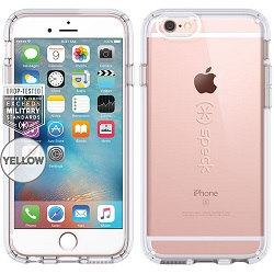 Speck CandyShell Clear iPhone 6/6s Plus Case w/FREE Car Charger