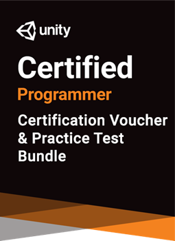 Unity Certified Programmer Bundle - certification and practice test bundle THUMBNAIL