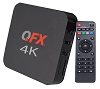 QFX Android TV Box with FREE HDTV Antenna