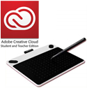 Adobe Creative Cloud with Wacom Intuos Draw Tablet - Small (SPECIAL OFFER!) WIN/MAC