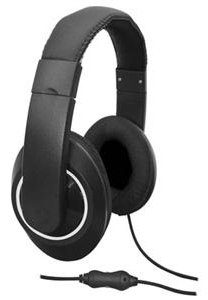 Avid AE-9092 On-Ear Stereo Headset with Mic LARGE