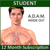 A.D.A.M. Inside and Out - 12 Month Individual or Home School
