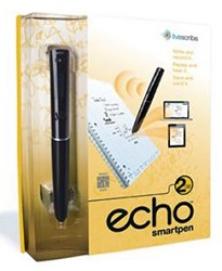 Livescribe Echo Smartpen 2GB with FREE! Carrying Case (Limited Time Offer!)