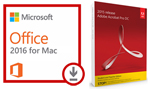 Microsoft Office 2016 for Mac (Download) with Adobe Acrobat Pro 2017 (Mac - DVD) THUMBNAIL