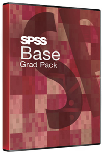 IBM SPSS Statistics Base Grad Pack v.26.0 12-Month License for Windows (Download) LARGE
