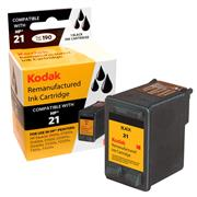 Kodak Brand Ink Cartridge Compatible With HP 21 (Black) THUMBNAIL