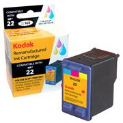 Kodak Brand Ink Cartridge Compatible With HP 22 (Color) THUMBNAIL