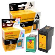 Kodak Brand Ink Cartridge Compatible With HP 96/97 (Combo Pack - Black and Tri) THUMBNAIL