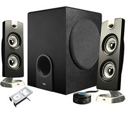 Cyber Acoustics CA-3602 Platinum 2.1 Speaker System (On Sale!)