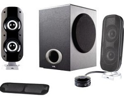 Cyber Acoustics CA-3810 2.1 Speaker System LARGE