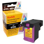 Kodak Brand Ink Cartridge Compatible With HP 61XL (Tri-Color) THUMBNAIL