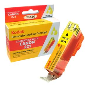 Kodak Brand Ink Cartridge Compatible With Canon 2949B001 (Yellow) LARGE