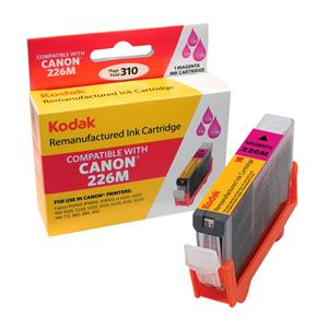 Kodak Brand Ink Cartridge Compatible With Canon 4548B001 (Magenta) LARGE