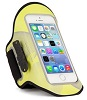 The Joy Factory aXtion Night Run Armband Case for iPhone 4/4S/5/5S/5C (Yellow)