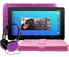 "Ematic 7"" Quad-Core Android 7.1 Tablet Bonus Bundle (Purple)"