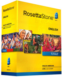 Rosetta Stone English American Level 1-5 Set DOWNLOAD - WIN