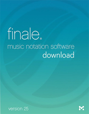 MakeMusic Finale 25 - Academic (Download)