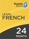 Rosetta Stone French: 24 Month Subscription for Windows/Mac 1-2 Users, Download
