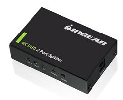 IOGEAR 4K 2-Port HDMI Splitter