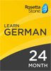 Rosetta Stone German: 24 Month Subscription for Windows/Mac 1-2 Users, Download
