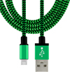 6 Foot Braided Micro-USB Cable for Android/Samsung