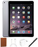 Apple iPad Air 16GB Holiday Value Bundle (Black/Space Gray) (Refurbished) THUMBNAIL