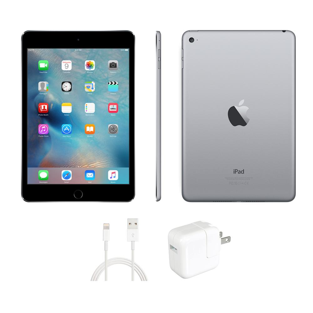 Apple iPad Mini 4 - 128GB Space Gray (Refurbished) THUMBNAIL