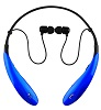Supersonic IQ Sound IQ-127BT Bluetooth Wireless Headphones & Mic (Blue) (While They Last!)