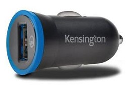 Kensington PowerBolt 2.4 Car Charger with QuickCharge 2.0