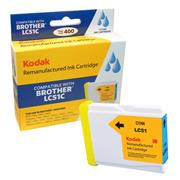 Kodak Brand Ink Cartridge Compatible With Brother LC51C (Cyan) THUMBNAIL